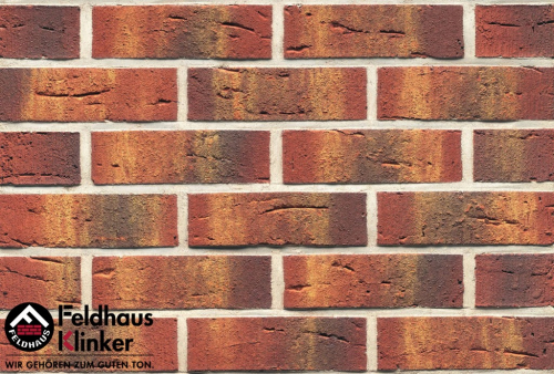 Клинкерный кирпич Feldhaus Klinker K328NF carmesi multi vascu
