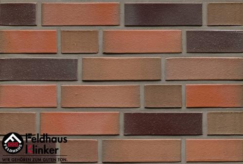 Клинкерный кирпич Feldhaus Klinker K350NF lava maris liso
