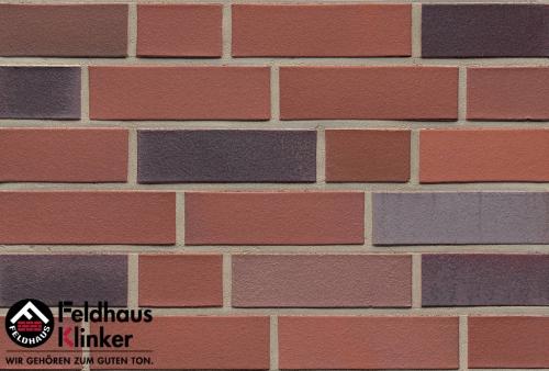 Клинкерный кирпич Feldhaus Klinker K364NF lava azur liso