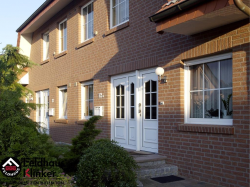 Клинкерный кирпич Feldhaus Klinker K435NF carmesi mana