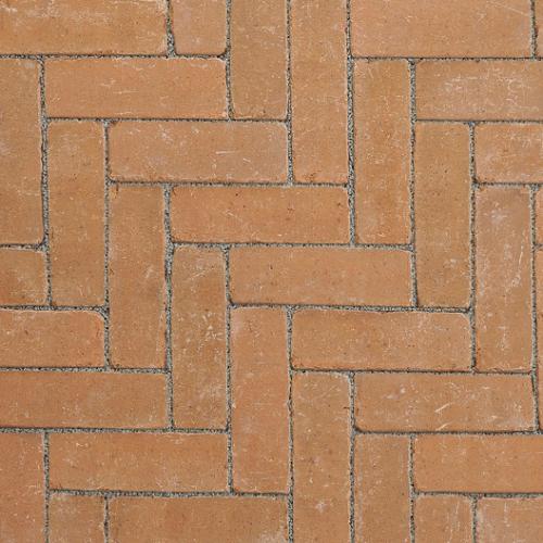Ручной формовки брусчатка Vandersanden шлифованная, устаренная Valencia Nostalgie (коричневая, гладкая, устаренная, не опесоченная)