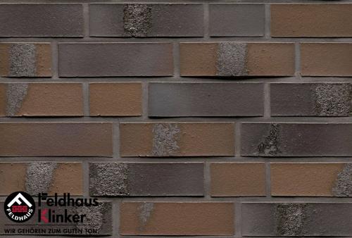 Клинкерный кирпич Feldhaus Klinker K564NF carbona geo maritim