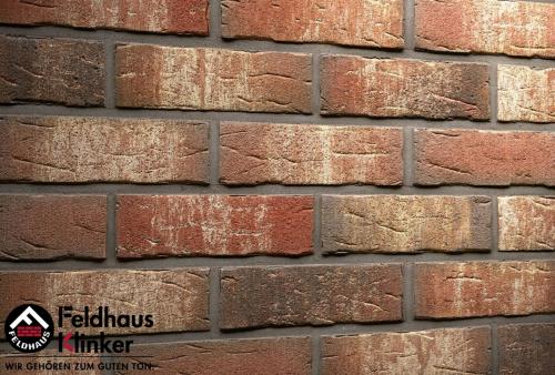 Клинкерный кирпич Feldhaus Klinker K658NF sintra ardor belino