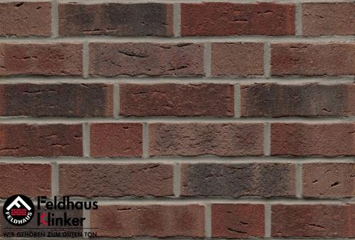 Клинкерный кирпич Feldhaus Klinker K663NF sintra cerasi nelino