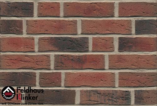 Клинкерный кирпич Feldhaus Klinker K685NF sintra carmesi nelino