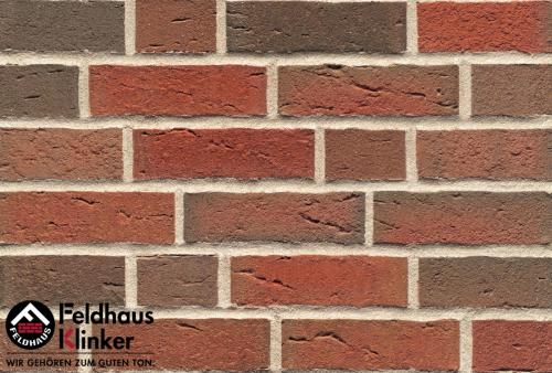 Клинкерный кирпич Feldhaus Klinker K689NF sintra ardor