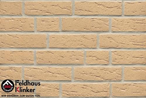 Клинкерный кирпич Feldhaus Klinker K692NF sintra crema