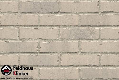 Клинкерный кирпич Feldhaus Klinker K732NF vascu crema toccata Wasserstrich