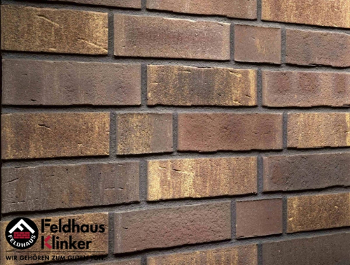 Клинкерный кирпич Feldhaus Klinker K747NF vascu geo legoro Wasserstrich