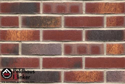 Клинкерный кирпич Feldhaus Klinker K769NF vascu cerasi legoro Wasserstrich