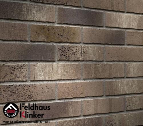 Клинкерный кирпич Feldhaus Klinker K775NF vascu marengo antrablanca