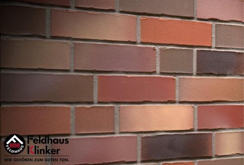 Клинкерный кирпич Feldhaus Klinker K991NF bacco ardor matiz