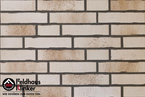 Клинкерный кирпич Feldhaus Klinker K914NF vario crema sabbia
