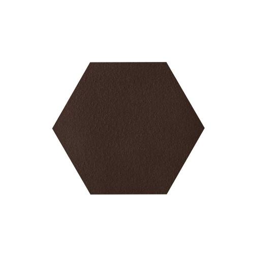 Paradyz Natural Brown DURO Heksagon плитка напольная структурная х