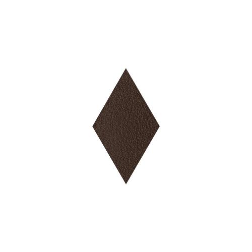 Paradyz Natural Brown DURO Romb декор напольный структурный