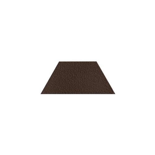 Paradyz Natural Brown DURO Trapez декор напольный структурный