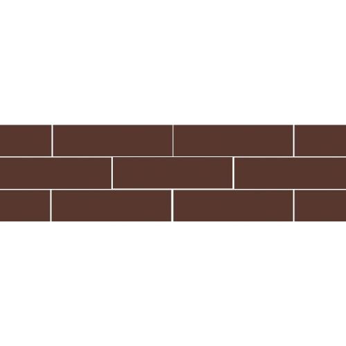 Paradyz Natural Brown (Plain) плитка фасадная гладкая