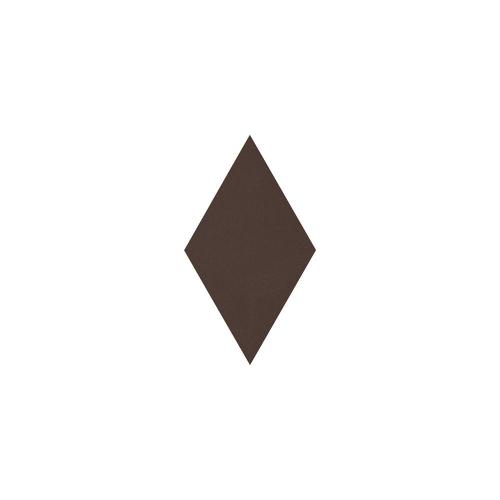 Paradyz Natural Brown (Plain) Romb декор напольный
