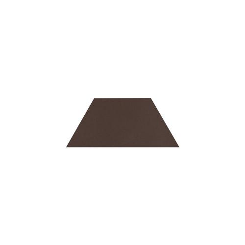 Paradyz Natural Brown (Plain) Trapez декор напольный