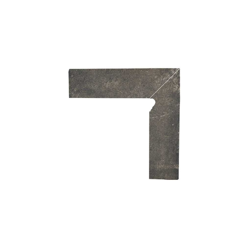 Paradyz Scandiano Brown плинтус правый структурный 2-х элем