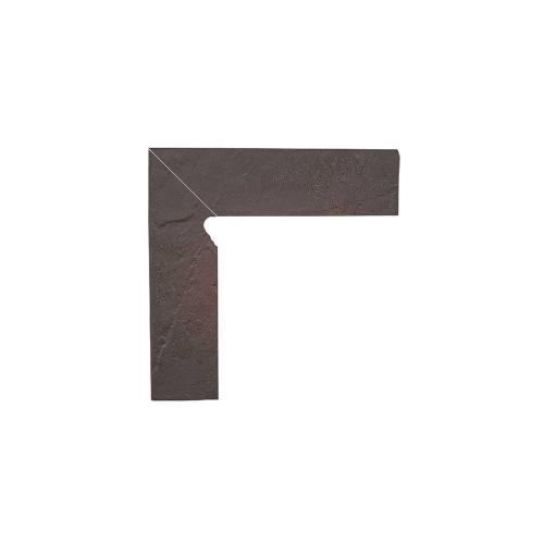 Paradyz Semir Rosa плинтус левый структурный 2-х элем
