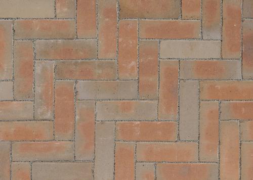 Ручной формовки брусчатка Vandersanden шлифованная, устаренная Aragon Nostalgie (коричневая, гладкая, устаренная, не опесоченная)
