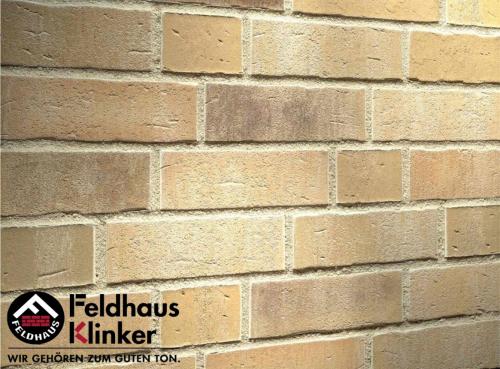 Клинкерный кирпич Feldhaus Klinker K723NF vascu sabiosa rotado Wasserstrich