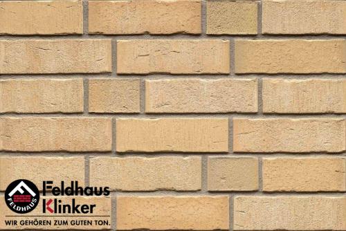 Клинкерный кирпич Feldhaus Klinker K724NF vascu sabiosa bora Wasserstrich