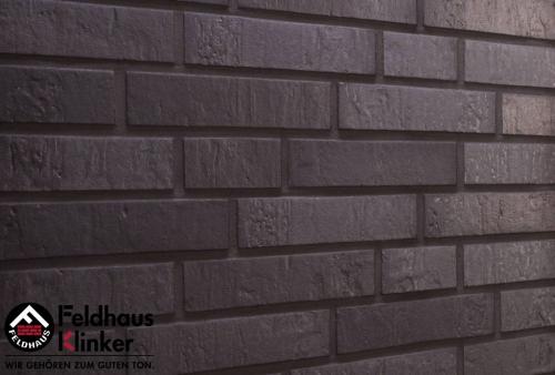 Клинкерная плитка Feldhaus Klinker accudo geo ferrum R717NF14 240x14x71 мм