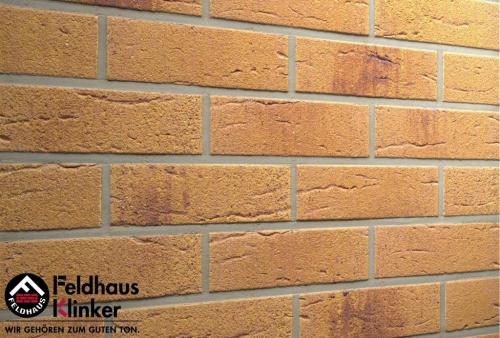 Клинкерная плитка Feldhaus Klinker amari viva rustico aubergine R287NF9 240x9x71 мм
