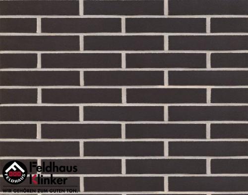 Клинкерная плитка Feldhaus Klinker anthracit liso R700DF14 240x14x52 мм