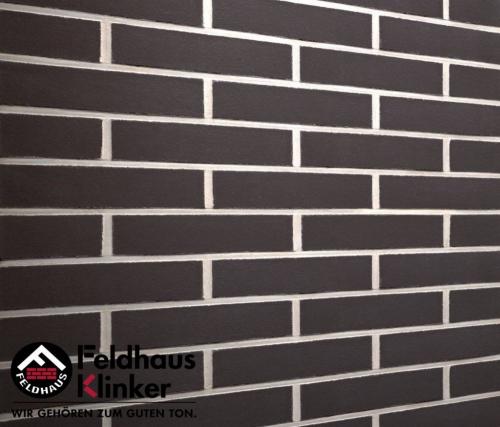 Клинкерная плитка Feldhaus Klinker anthracit liso R700NF14 240x14x71 мм