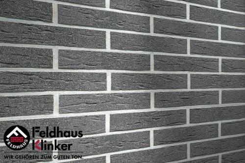 Клинкерная плитка Feldhaus Klinker anthracit mana R735DF9 240x9x52 мм