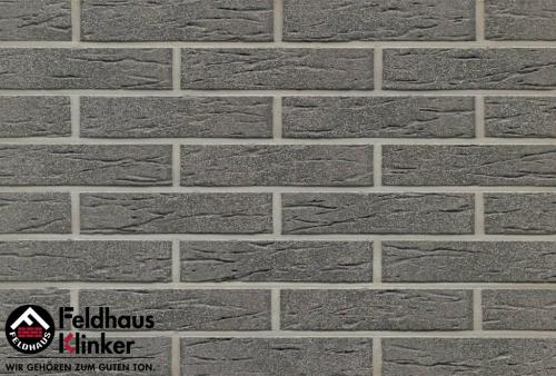 Клинкерная плитка Feldhaus Klinker anthracit mana R735NF9 240x9x71 мм