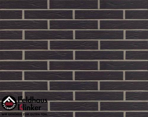 Клинкерная плитка Feldhaus Klinker anthracit senso R740DF9 240x9x52 мм