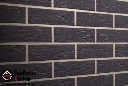 Клинкерная плитка Feldhaus Klinker anthracit senso R740NF14 240x14x71 мм