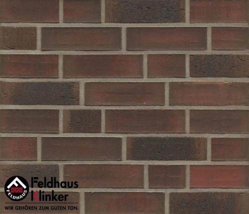 Клинкерная плитка Feldhaus Klinker baro ardor carbo R882DF14 240x52x14 мм