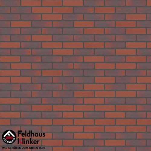 Клинкерная плитка Feldhaus Klinker carmesi antic liso R356DF9 240x9x52 мм