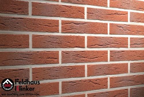 Клинкерная плитка Feldhaus Klinker carmesi antic mana R335DF9 240x9x52 мм
