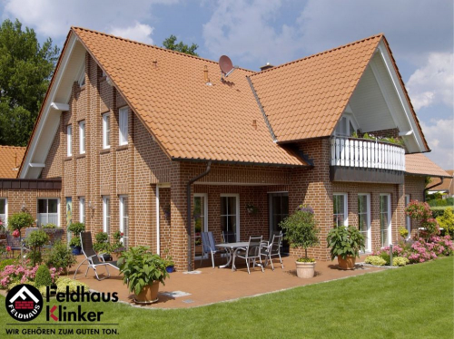 Клинкерная плитка Feldhaus Klinker carmesi senso R440NF14 240x14x71 мм