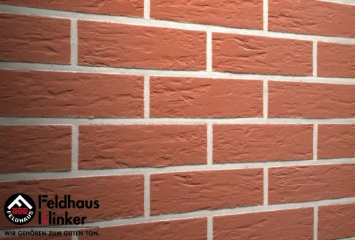 Клинкерная плитка Feldhaus Klinker carmesi senso R440NF9 240x9x71 мм