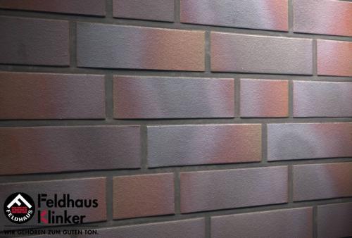 Клинкерная плитка Feldhaus Klinker cerasi maritim negro R386NF14 240x14x71 мм