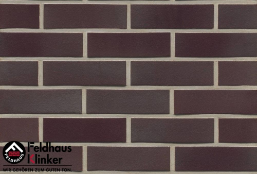 Клинкерная плитка Feldhaus Klinker ferrum liso R384DF14 240x14x52 мм