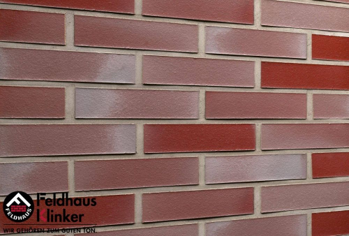 Клинкерная плитка Feldhaus Klinker galena ardor rutila R391NF14 240x14x71 мм