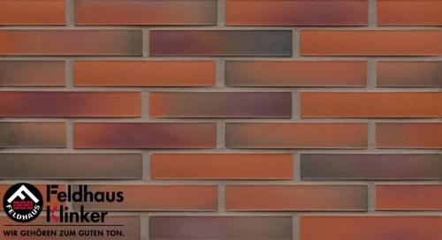 Клинкерная плитка Feldhaus Klinker galena terreno rosato R489NF14 240x14x71 мм