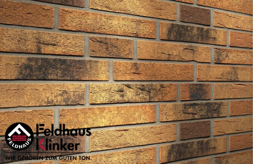 Клинкерная плитка Feldhaus Klinker Nolani R286DF9 240x9x52 мм