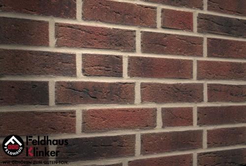 Клинкерная плитка Feldhaus Klinker sintra carmesi nelino R685NF14 240x71x14 мм