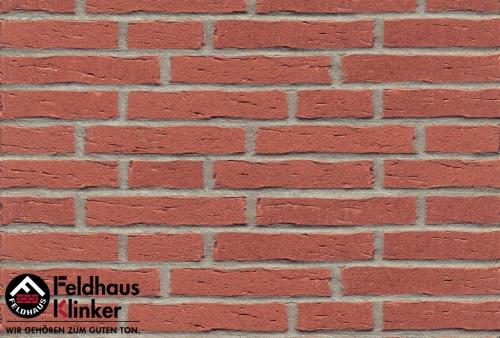 Клинкерная плитка Feldhaus Klinker sintra carmesi R694NF14 240x71x14 мм