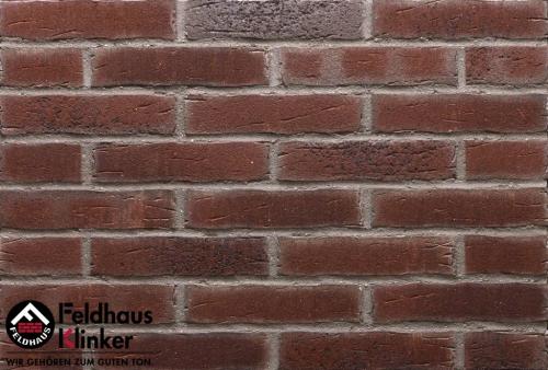 Клинкерная плитка Feldhaus Klinker sintra cerasi aubergine R664DF17 240x52x17 мм