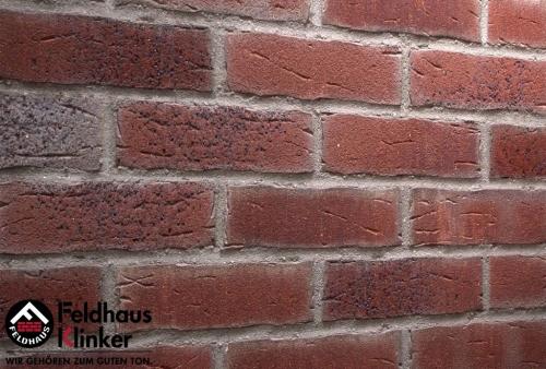 Клинкерная плитка Feldhaus Klinker sintra cerasi aubergine R664NF11 240x71x11 мм